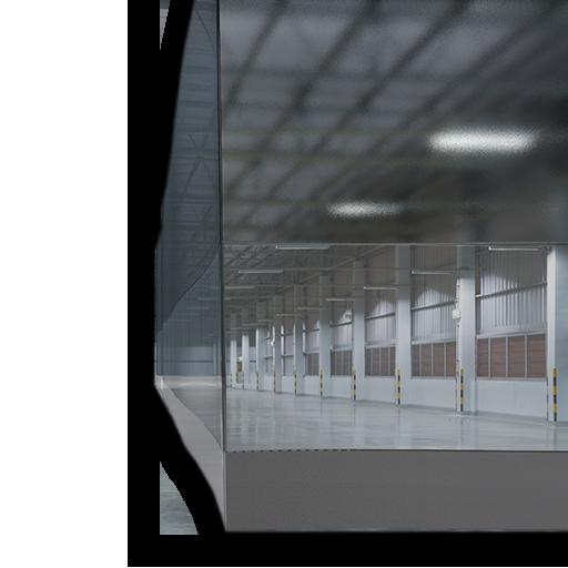 industrial curtain enclosure