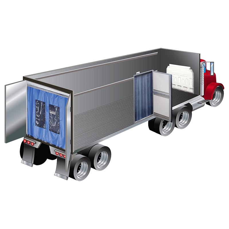 refrigerated truck curtains