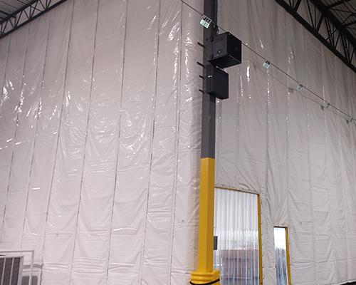 temperature control curtain