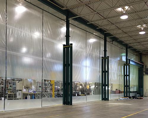 soft wall curtain enclosures