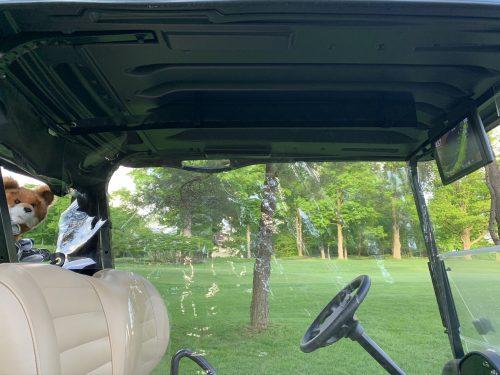 golf cart divider