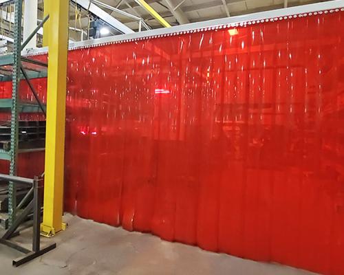 pvc weld strip curtain