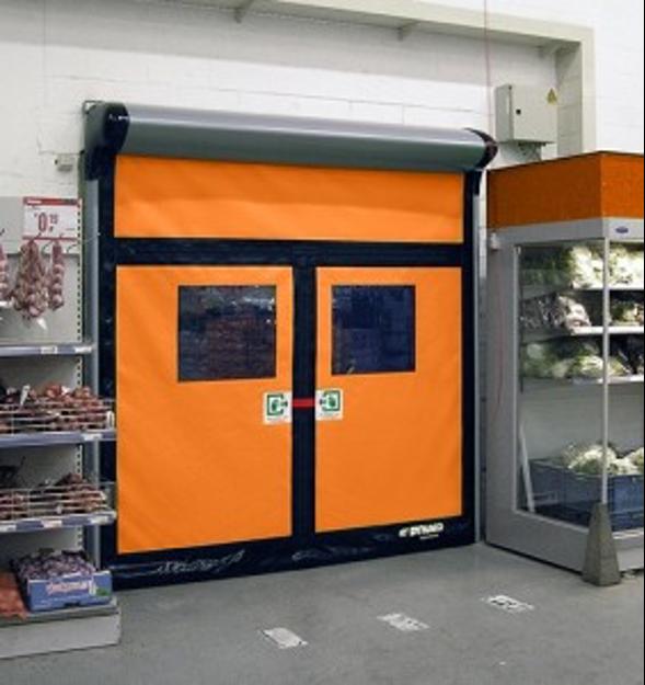 roll up doors food handling